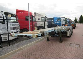 container chassis semi trailer D-TEC FT-43-03V 2005