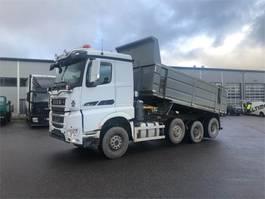 tipper truck > 7.5 t Sisu Polar 625 Rock 8x4/4 K-AKK 2014