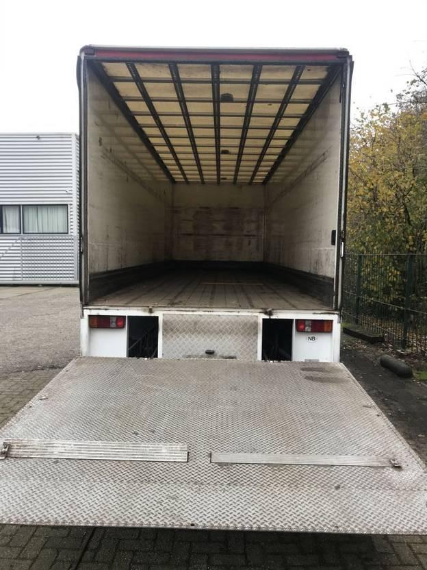 closed box truck > 7.5 t Volvo FE  280  euro 5 gesloten laadbak plus klep  low km 2008
