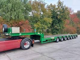 lowloader semi trailer Faymonville STNZ-7A  9,5M Tele hydr gestuurd 2011