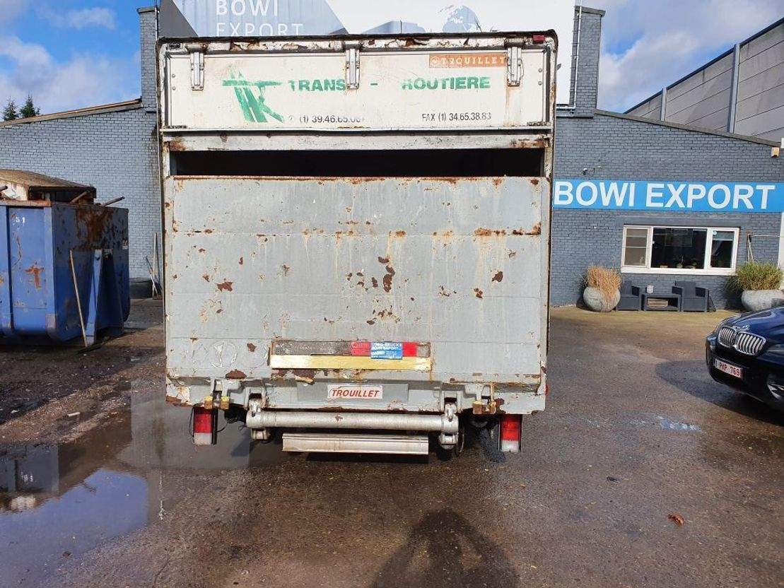closed box truck > 7.5 t Volvo fl6-11 1993