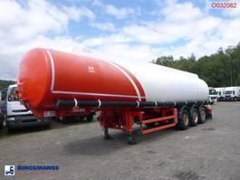 Tankauflieger Auflieger Parcisa Fuel tank alu 42 m3 / 6 comp 2003