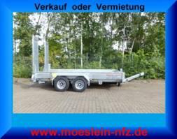 lowloader semi trailer Möslein TT 11-E5x2  Tandemtieflader, Feuerverzinkt 2021