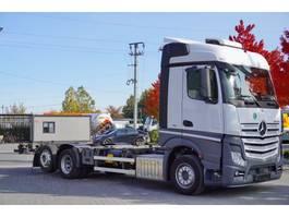 chassis cab truck Mercedes-Benz Actros 2543 , E6 , 6x2 , low deck MEGA , BDF 7,1m , retarder , S 2016