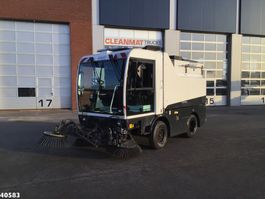 Road sweeper truck Schmidt Compact 400 Euro 5 with 3-rd brush 2012