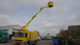 mounted boom lift truck DAF 55-220 custers 16,5 meter 2007