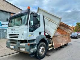 tipper truck > 7.5 t Iveco TRAKKER 410 6x4 Bordmatik Big Axel Manualgear