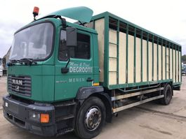 closed box truck MAN ME250 **6CYL-10 BOLTS-BELGIAN TRUCK** 2001
