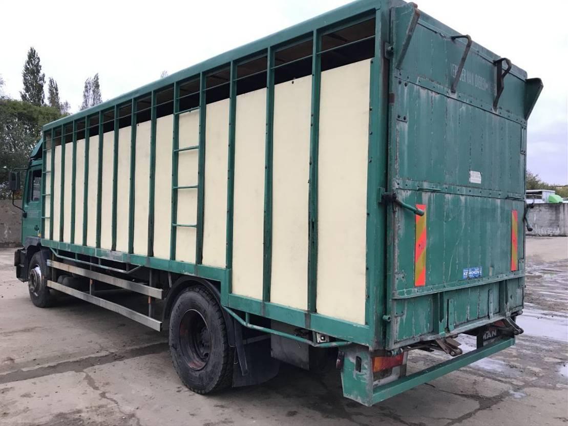 closed box truck > 7.5 t MAN ME250 **6CYL-10 BOLTS-BELGIAN TRUCK** 2001