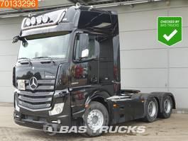 hazardous materials tractorhead Mercedes-Benz Actros 2663 6X4 Retarder Hydraulik ADR Big-Axle 2x Tanks Xenon 2014
