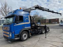 crane truck Volvo FM 400 6X4 + HIAB 244 EP-4 HIDUO 2007