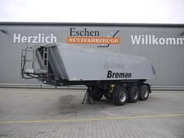 tipper semi trailer Meiller TR 3, 23m³ Alumulde, Luft/Lift, BPW 2008