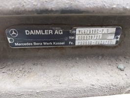Chassis part truck part Mercedes-Benz Occ Vooras VL4/51DC-7.5 Mercedes Actros