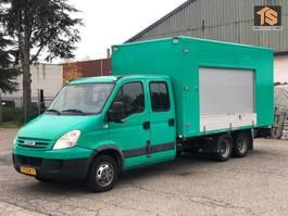 Kastenwagen Iveco FOOD TRUCK - CLICKSTAR - DOUBLE CABIN - NL BE COMBI - TOP! 2007