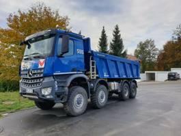 tipper truck > 7.5 t Mercedes-Benz 4145 - 8x8 BB - EINZELBEREIFT - Meiller Aufbau