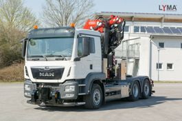 crane truck MAN FASSI455L214 - 6x4 HYDRODRIVE -SZM - ab 31.03.21 2020