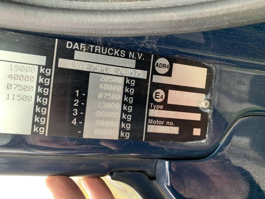 closed box truck > 7.5 t DAF CF 75 310 euro 5 automaat 2006 bj 2006