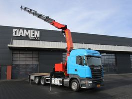 crane truck Scania R450 450LB6X2*4HNB Euro 6 2014