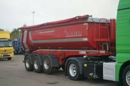 tipper semi trailer Carnehl CHKS/HH Stahlmulde Halbschale SAF Lift 2014