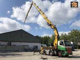 автокран DAF XF85.430 KRAN CRANE HIAB 80 T/M + JIB - TOP CONDITION 2006