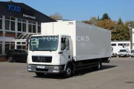 closed box truck MAN TGL / Koffer 7,5m/ Seitentür/ LBW/ Klima 2009