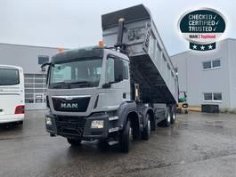 wheel dump truck MAN TGS 41.440 8X4 BB Euro6 Klima Luftfeder ZV