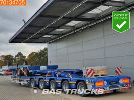 Tieflader Auflieger SCHEUERLE Euro Axle 2+5 More axles Hydr. Neck 650 cm Extendable 7x Steeraxle Hydr... 2021