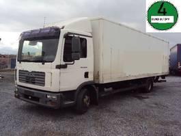 closed box truck MAN TGL 10.210 BL Koffer 7,8m Lbw 2006