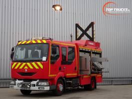 fire truck Renault Midlum 220 dci Calamiteiten truck, Rescue-Vehicle - Electricity aggregate, Elektriz... 2005
