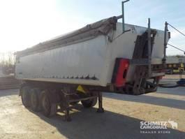Kippauflieger Schmitz Cargobull Semitrailer Tipper Alu-square sided body 24m³ 2008