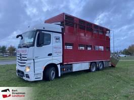 livestock truck Mercedes-Benz 2545 euro 6 met I.R.M.A. Veelaadbak 2013