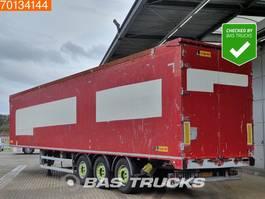 walking floor semi trailer Legras 86m3 6mm Floor APK 3-2021 3 axles Liftachse 2010