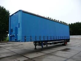 sliding curtain semi trailer Groenewegen DRO-12-10 - Hardhouten vloer - Top conditie 2000