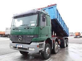 tipper truck > 7.5 t Mercedes-Benz Actros 4143 manual 8x8 2000