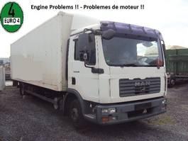 closed box truck MAN TGL 10.210 BL Koffer 7,8m Lbw Schalt E4 2007