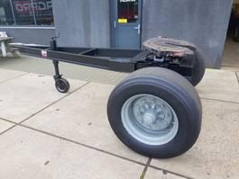 flatbed semi trailer agpro 1 as Dolly