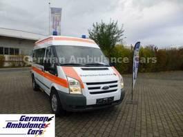 ambulance lcv Ford Transit 2,2 TDCI KTW mit Tragestuhl Schönebeck 2011