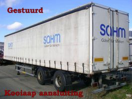 sliding curtain semi trailer Ackermann Fruehauf 2 As Oplegger Schuifzeil, OK-81-ZS 1992