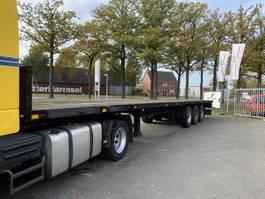 flatbed semi trailer Vogelzang VO-12-27 platte oplegger met nwe APK 1991