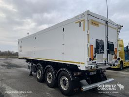 Pritsche / Plane Auflieger Wielton Semitrailer Tipper Alu-square sided body 45m³ 2019