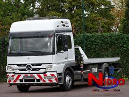 Abschlepp-LKW Mercedes-Benz ATEGO 1328 TOWTRUCK, 10 TM CRANE, WHEEL-LIFT, WINCH 2006