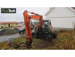 wheeled excavator Hitachi ZX 145W-3 2014