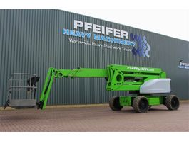articulated boom lift wheeled Niftylift HR28 HYBRID 4x4 Drive Hybrid Power, 28m Working He 2014