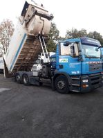 garbage truck MAN righthand truck 26.320 TGA 2007