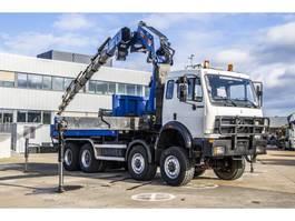 crane truck Mercedes-Benz SK 3535 AK - PM 57 S(2006+9xhydr.+Remote C+Winch)+ 1992