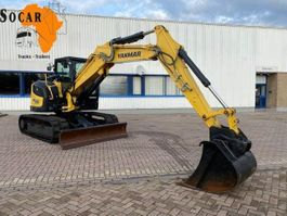 crawler excavator Yanmar SV 100 (year 2019) Including 4 Shovels 2019
