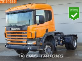 cab over engine Scania P124-360 4X4 4x4 Manual Big-Axle Steelsuspension Euro 2 1997