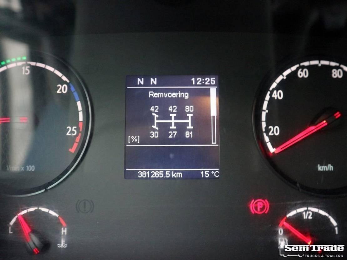 closed box truck > 7.5 t Scania P280 EURO 5 6X2*4 GESTUURDE NALOOPAS VOL ADR 4.000 KG LAADKLEP TOP STAAT 2010