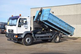 container truck MAN LE 18.280 4X2 CONTAINER SYSTEEM- CONTAINER SISTEEM- CONTAINER HAAKSYSTEEM- SYSTEME CONTENEUR 2006