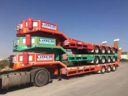 Tieflader Auflieger Lider Lowbed semi trailer 2021